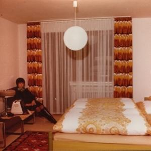 Geschichte Hotelzimmer